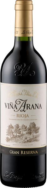 Rioja Gran Reserva Vina Arana